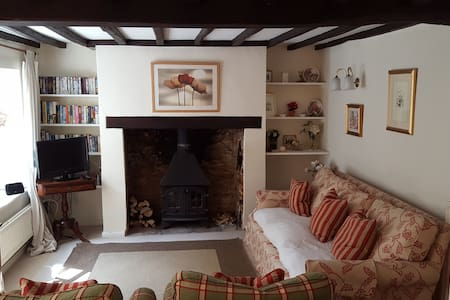 Charming 18th c Cotswolds Cottage - Hus