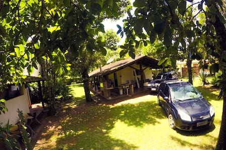 Casa terrea em linda praia=Pauba - Maison