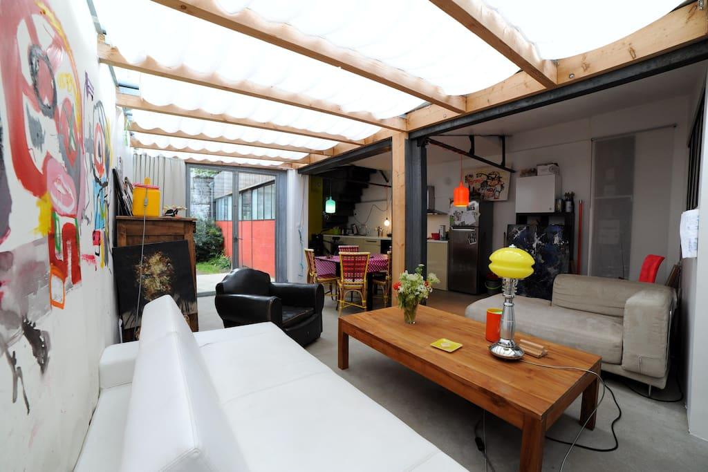 Maison atelier d 39 artiste lofts louer nantes - Location atelier artiste lyon ...