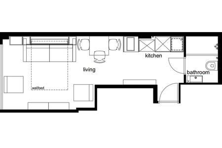 Chain 2 Compact minimal flat - kadıköy /caferağa - Apartment