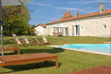 Countryside house with private pool - Cherval - House