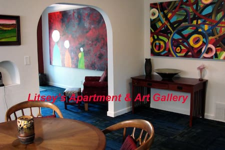 Litsey's Apartment & Art Gallery In Wichita, KS. - Wichita