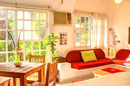 Departamento zona de Playa Mamitas duermen 4 - Playa del Carmen - Appartement en résidence
