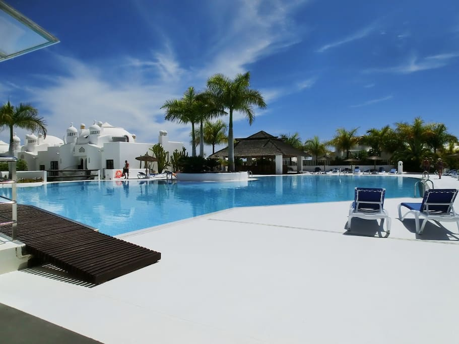 The Better Heated Pool in The South Tenerife