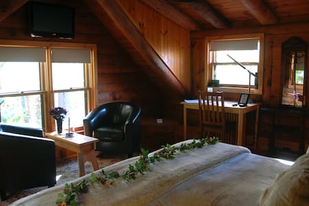 Log Room on Mountain nr Northampton - Westhampton - Bed & Breakfast
