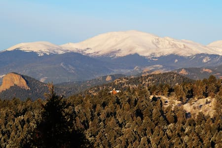 Top of Colorado Luxury Retreat... Enjoy the views! - Conifer - Casa