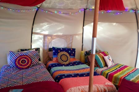 Glamping for Groups in Bush Setting ~ Arthurs Seat - Tent