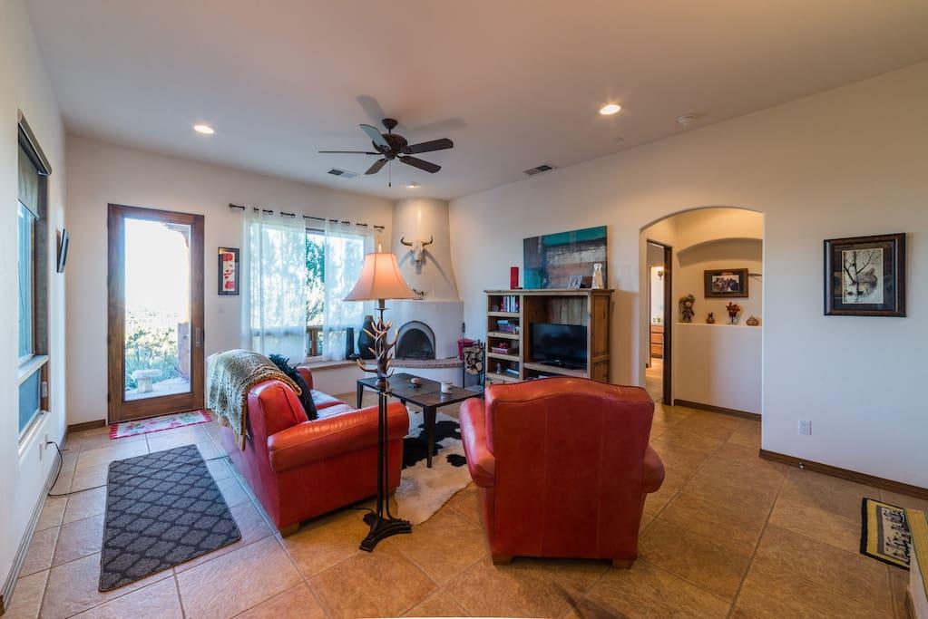 Beautiful 1100 Sq Ft Casita Houses For Rent In Sandia Park