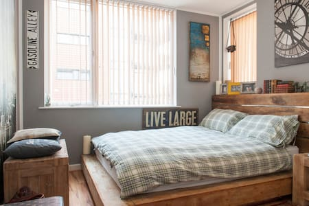 King size bed ensuite private room - Dublin - Apartment