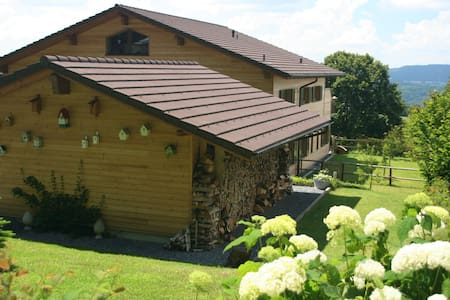 Geniet in B&B Swiss Seasons - Schongau - Bed & Breakfast