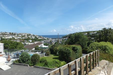 Sea views at Sea Haven, Mevagissey - Mevagissey - House
