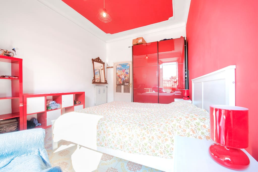 Wide double room, center of Rome