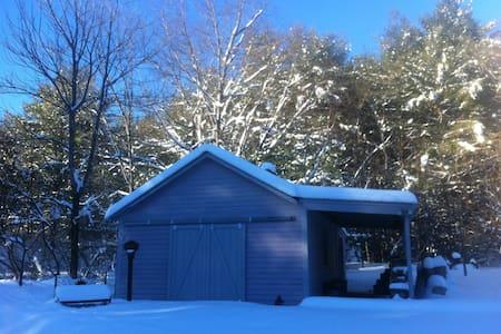 Simple Adirondack Farmhouse - Hadley - House