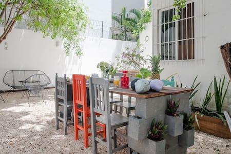 house downtown - quiet and nice - Playa del Carmen - Hus