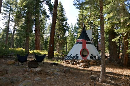 Fabulous Private Tipi @ Lake Tahoe!