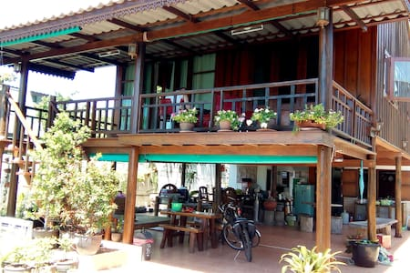 Room with sea view in Prachuap - Huis