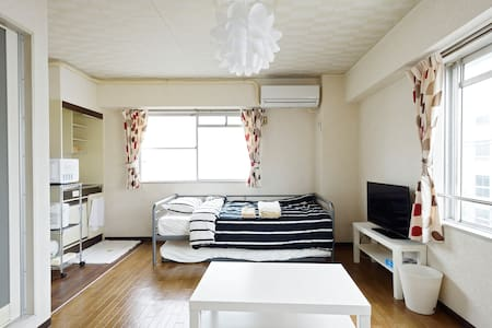 11min to train Kobe,Sannomiya,Himeji!Wi-Fi!Private - Akashi-shi - Apartament
