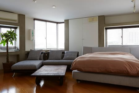 Spacious studio in Shibuya area - Apartment