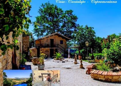 Casa-Cantalupo/ Haus Fienile - Cupramontana - House