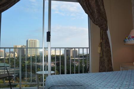 Waikiki beach ocean view - Honolulu - Apartment