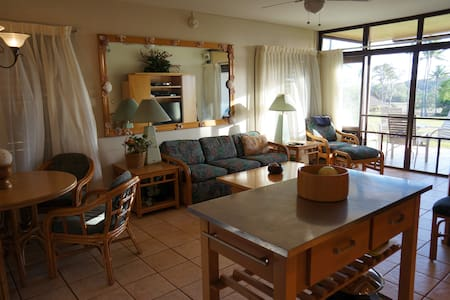 Stunning Whitewater View in Molokai Beach Condo - Maunaloa