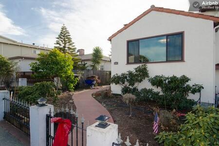 SFO/ Caltrain/BART/ Palo Alto #10 - Millbrae - House