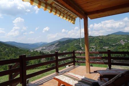 Chalet bois dans les Carpates - Chalet