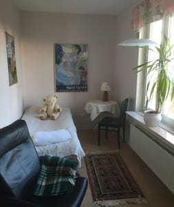 Sunny Room in Central Stockholm