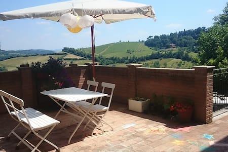 Ca' del Genio: camera con vista - Bologna - Villa