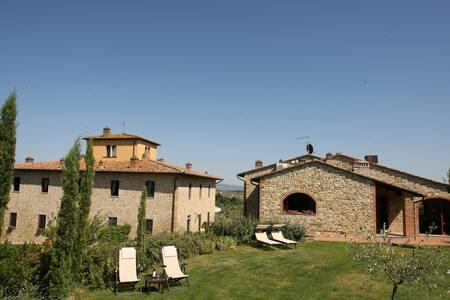 Luxury Apartment In Chianti Villa