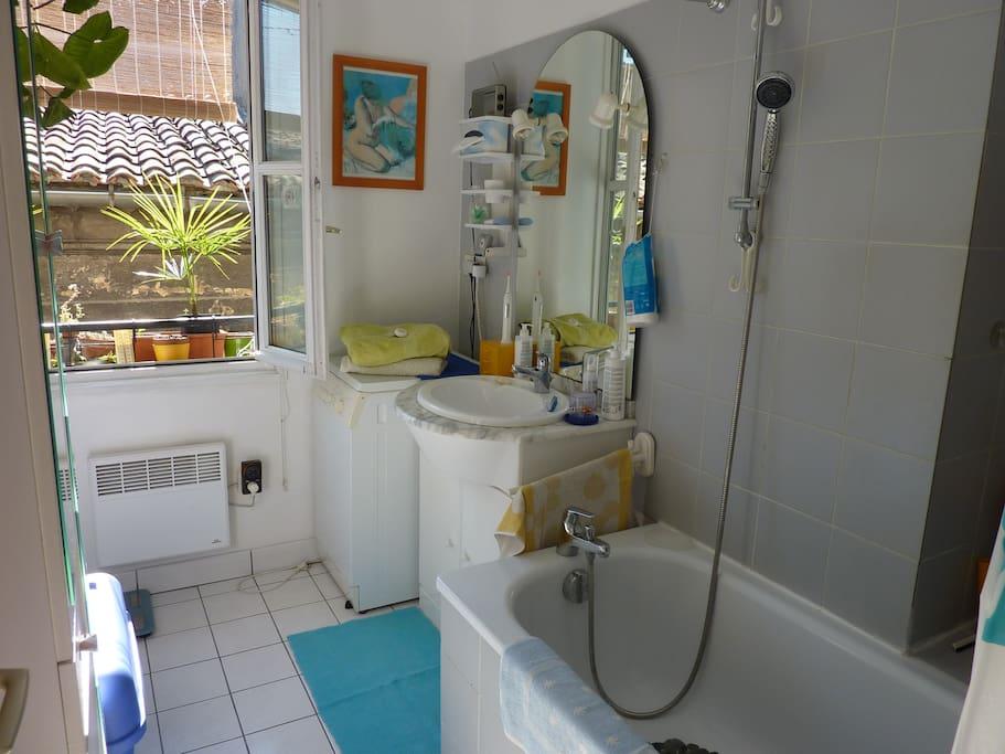 fenetre salle de bain vis a vis la salle de bains avec fentre - Fenetre Salle De Bain Vis A Vis