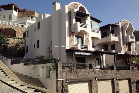 Bodrum C. Nice apartment with view