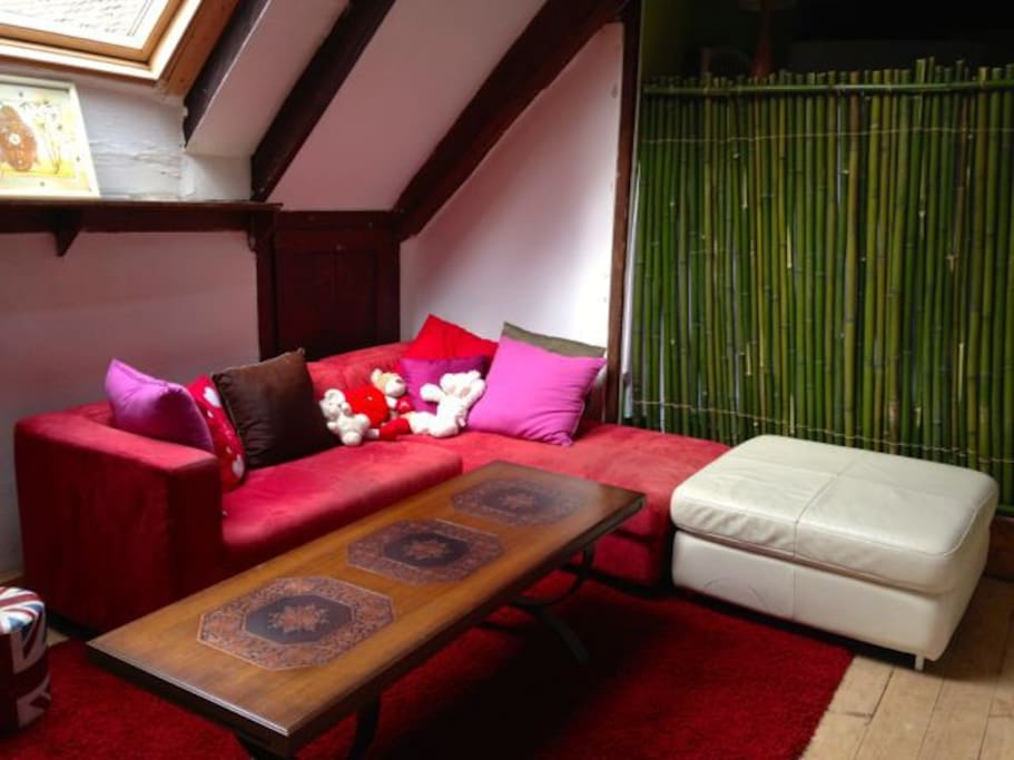 Lounge in the dormitory room