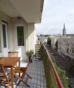 Grand appartement lumineux 93m2 Hyper Centre - Appartement