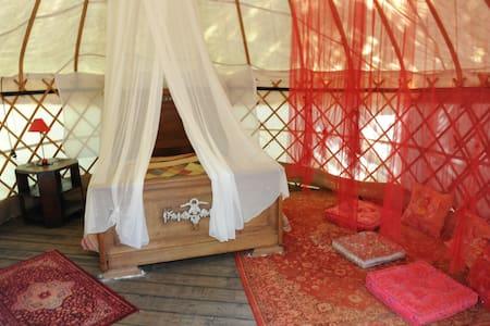 yourte romantique - Labastide-de-Virac - Khemah Yurt