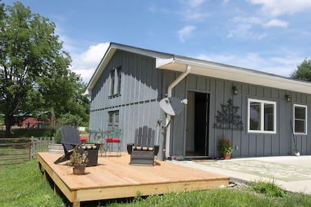 Beautiful 15 acre's farm experience - House
