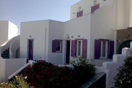 Fuchsia Sea View Villa - Άγιος Σώστης - Hus