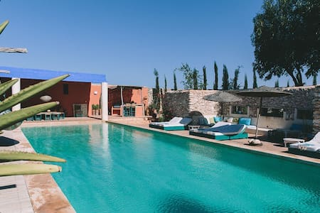 Riad Baoussala - Chambre Oasis - Essaouira - Dom