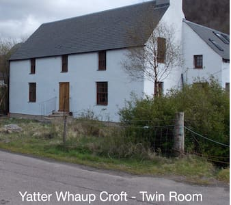 YatterWhaup Croft B&B - Twin Room - Glencoe