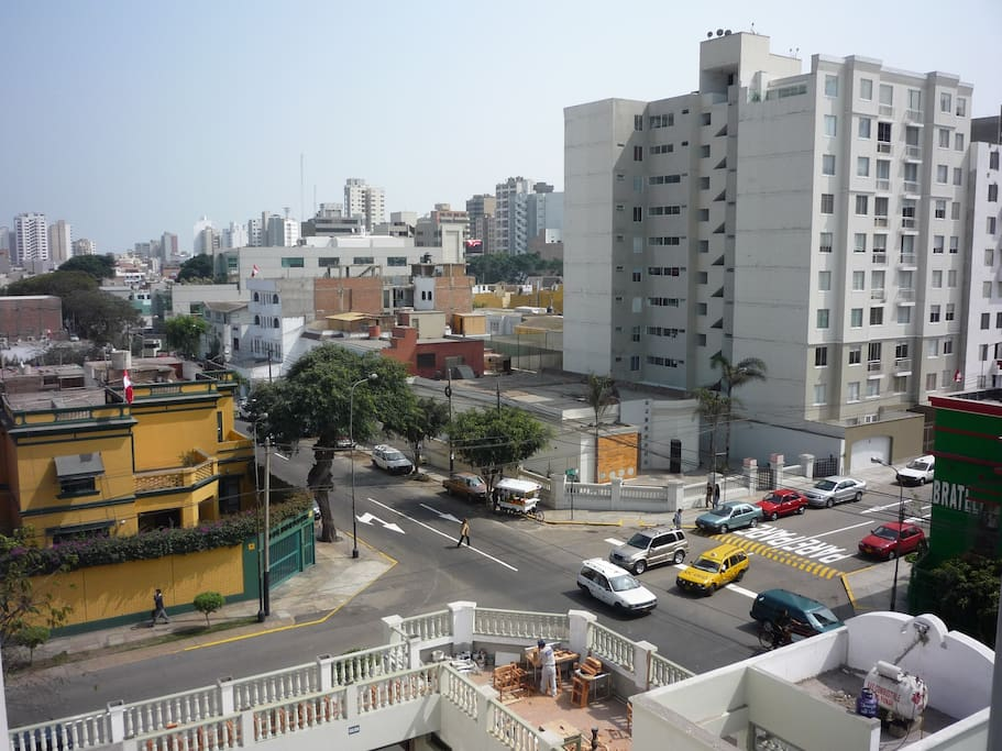 3 min walk from Parque Kennedy and Larco Ave.