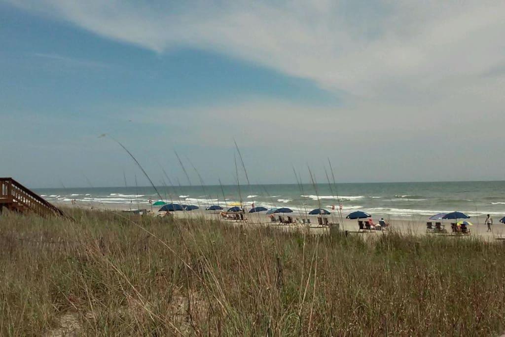 Big open beaches minutes from front door