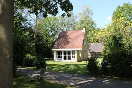 Rustieke 6p bungalow in het bos. - Hellendoorn - Srub