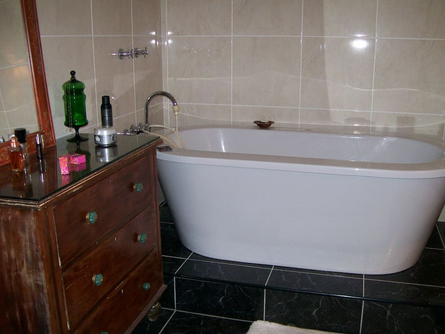large clean well designed bathrooms