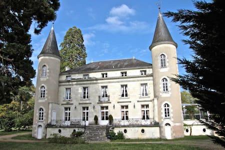 Chambre LOCHES(4)/CHATEAU en TOURAINE - Tournon-Saint-Pierre - Castle