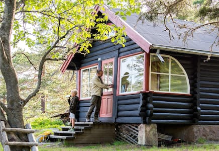 Forest paradise: authentic cabin - Zomerhuis/Cottage