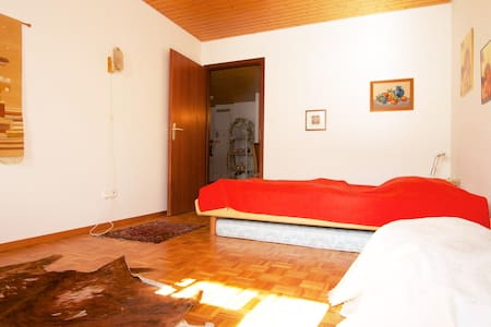 Spacious room - private bathroom - Rennaz
