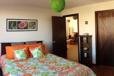 Vibrant, spacious apartment La Floresta, Quito - Apartament