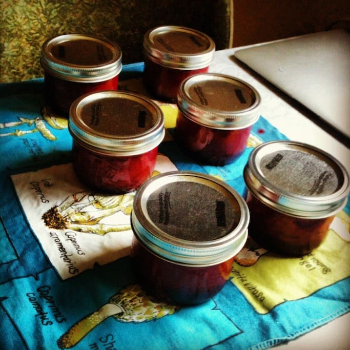 some homemade jam for your toast..?