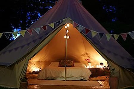 Bell Tent at the Woodland Retreat - Tält