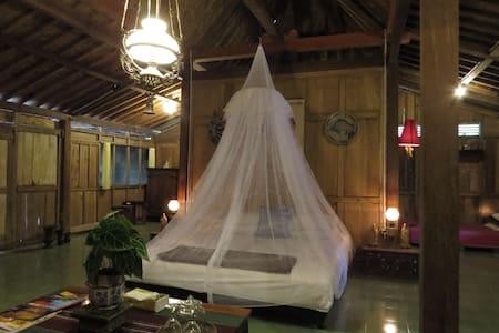 Rumah tradisional limasan jawa - Yogyakarta - House